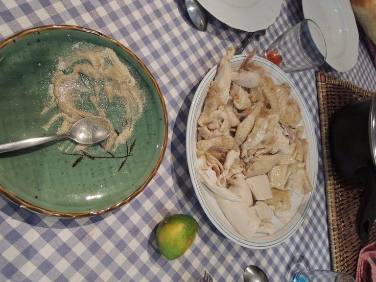 Le Canard Du Mékong : Poulet bouilli à la vietnamienne