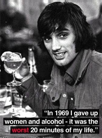 George Best. Decadent Lifestyle again