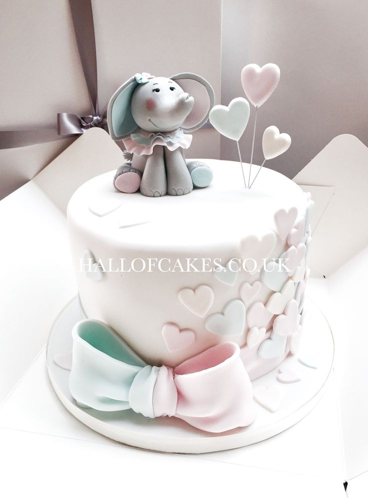 elephant baby shower cake elephant baby shower cake by of cakes tortas 3871