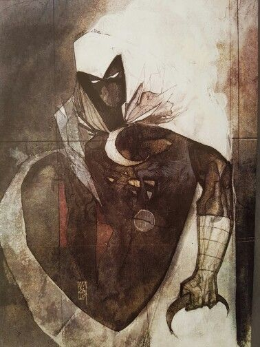 Alex Maleev 'Moon Knight' variation for Series 7