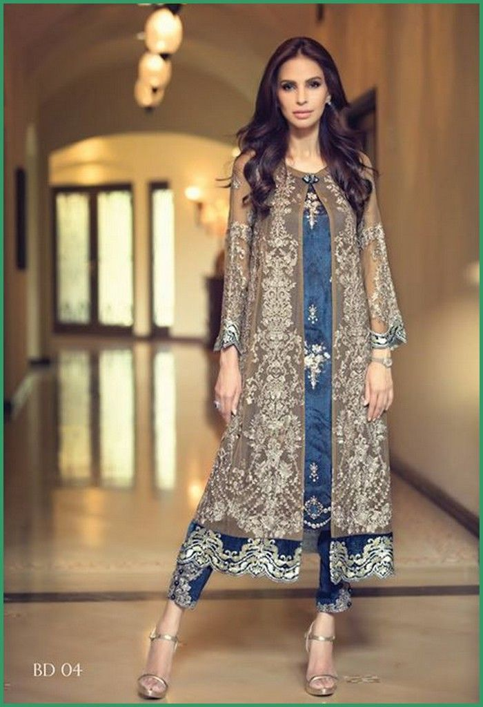 Maria B Eid Collection 2016 For Girls Evening dress