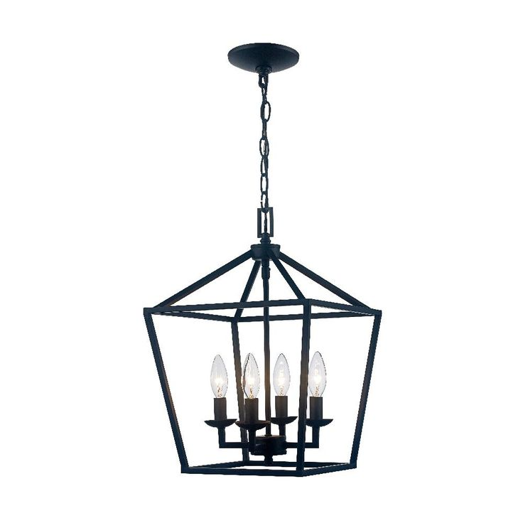 Home Decorators Collection Caged 4 Light Bronze Chandelier 46201 The Home Depot Cage Chandelier Bronze Chandelier Cage Light