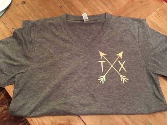 Texas T-Shirt Custom Texas Shirt Texas Shirt by JOandJdesigns