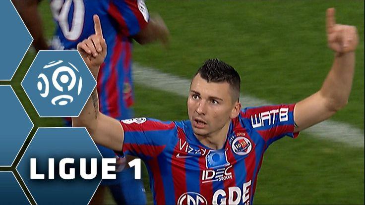 But Mathieu DUHAMEL (24') / SM Caen - FC Nantes (1-2) - (SMC - FCN ...