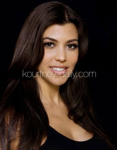 Kourtney Kardashian Hair & Makeup