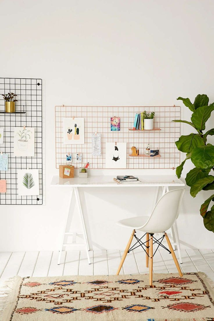 Urban outfitters bedroom - Large Wire Wall Grid Urban Outfitters