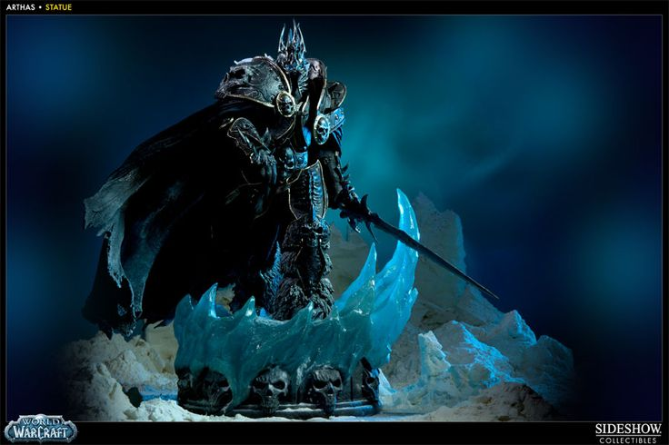 Sideshow Collectibles - Arthas Polystone Statue