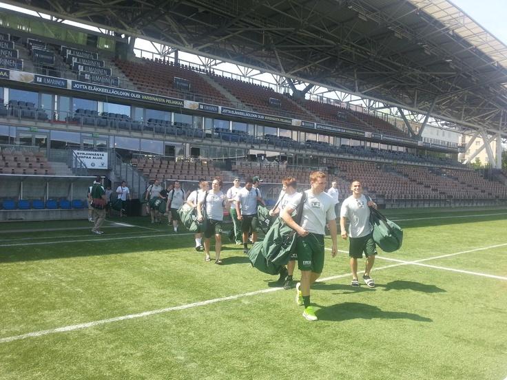 Game day Helsinki!