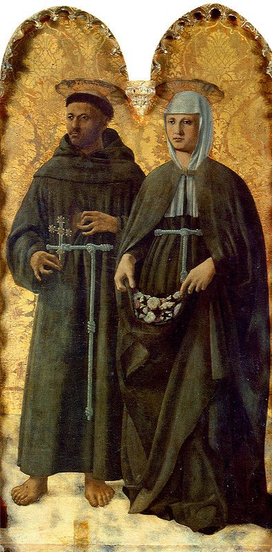 029-Пала Сант-Антонио (свв. Франциск и Елизавета).jpg Пьеро делла Франческа