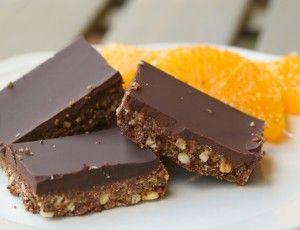 Chocolate Orange Energy Bars