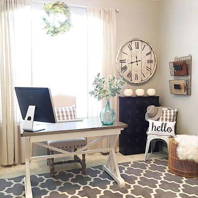 Office Living Room: 25+ Best Ideas About Farmhouse Office On Pinterest