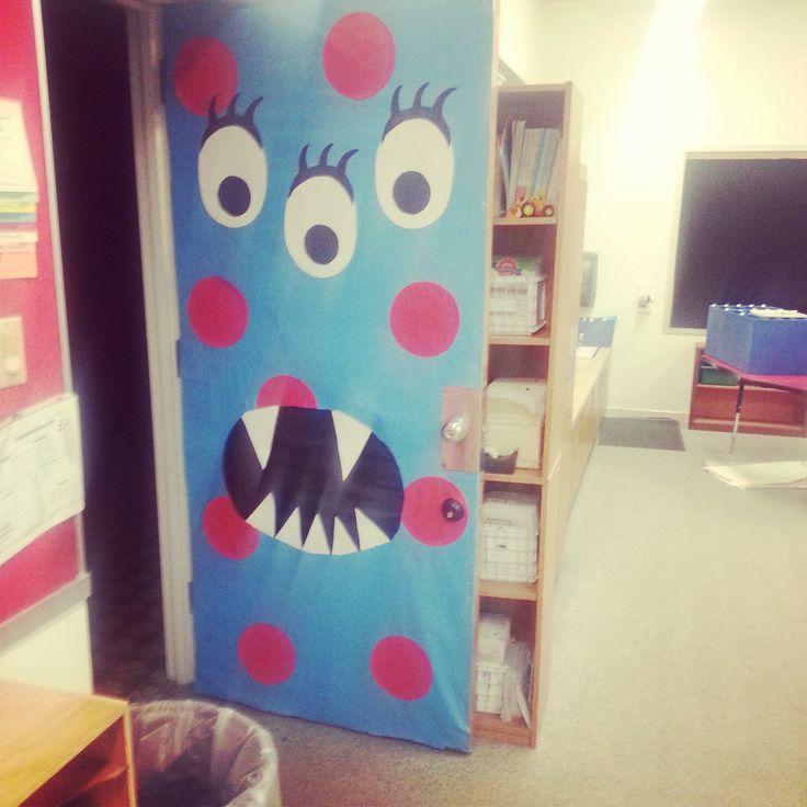 Monster Theme Door Decoration