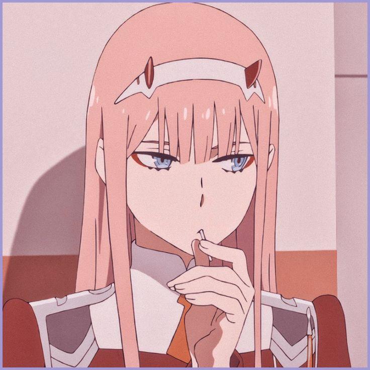 zero two icon in 2020 | Darling in the franxx, Anime ...
