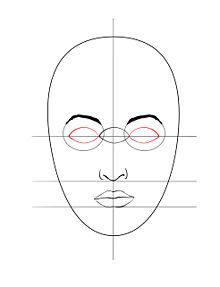 very simple face drawing tutorial