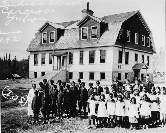 Residential Schools were government funded boarding schools for first nation children, to assimilate them into Euro-Canadian culture. We chose to include this because it is still affecting Canada today, Although we don't have residential schools, their past is still present. In 2008 Stephen Harper, the Prime minister at the time, issued a public apology to the victims of the Schools. This followed the Indian Residential Schools Settlement Agreement in 2007.