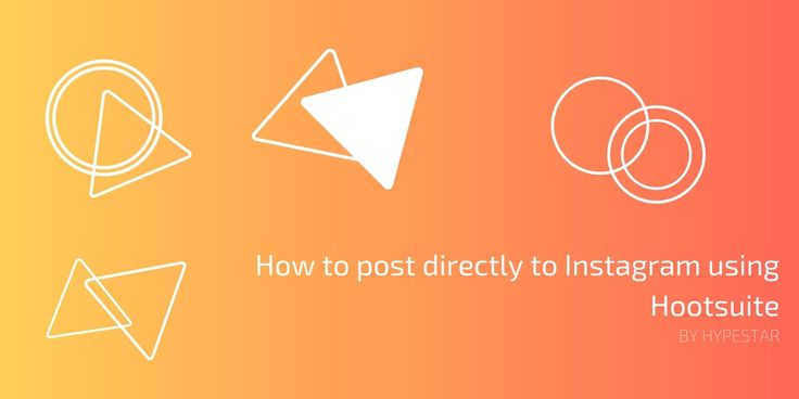 For so too long, you haven't been able to post to Instagram using any 3rd party tool and were restricted to using the mobile app on your smart device. Today, that ends!    Instagram has made direct publishing available to business profiles. If you