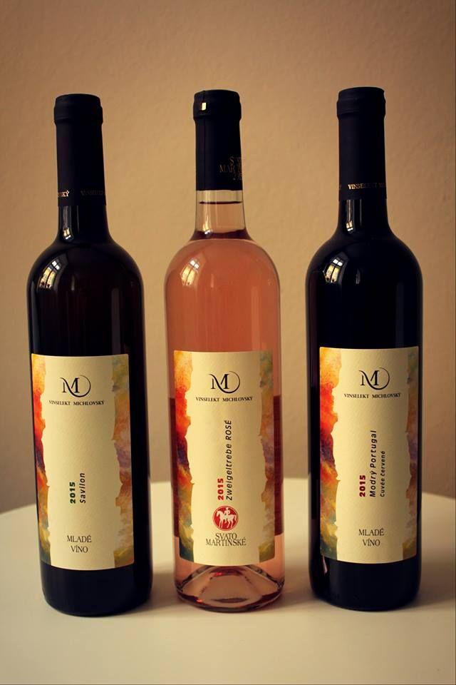 Svatomartinské a mladé vína