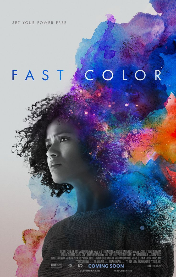 Fast Color Movie Poster Starring Gugu Mbatha Raw Free Movies