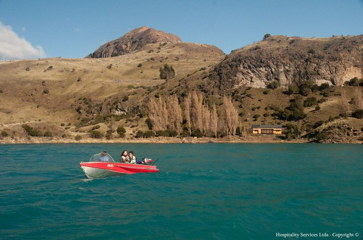 Photo: Hospitality Services Ltda - Copyright © Our boats can be used for rides and for fishing. Our island keeper (and boat expert) will share with you all the hidden treasures of Isla Macías and General Carrera Lake in Aysén, Chilean Patagonia.