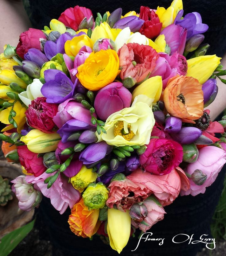Spring Wedding Bouquet 2014