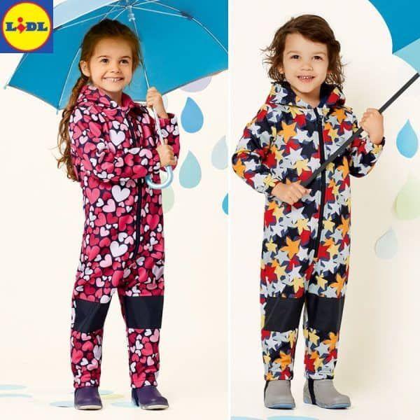 3924e13b50820b Bunte Regenkleidung für Mädchen - jetzt neu bei Lidl