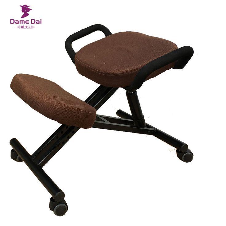 Original Silla Taburete Con Mango Ergonómico de Rodillas Hogar Mobiliario de Oficina Ergonómico Madera de Rodillas Postura del Equipo Silla de Diseño