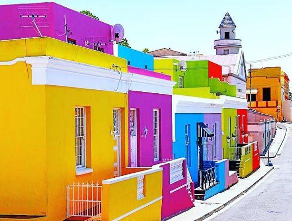 Bo-Kaap - Afrique du Sud  Pic : @popculture