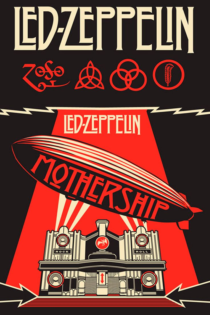Led Zeppelin Owns One Of The Most Famous Band Logos Ever