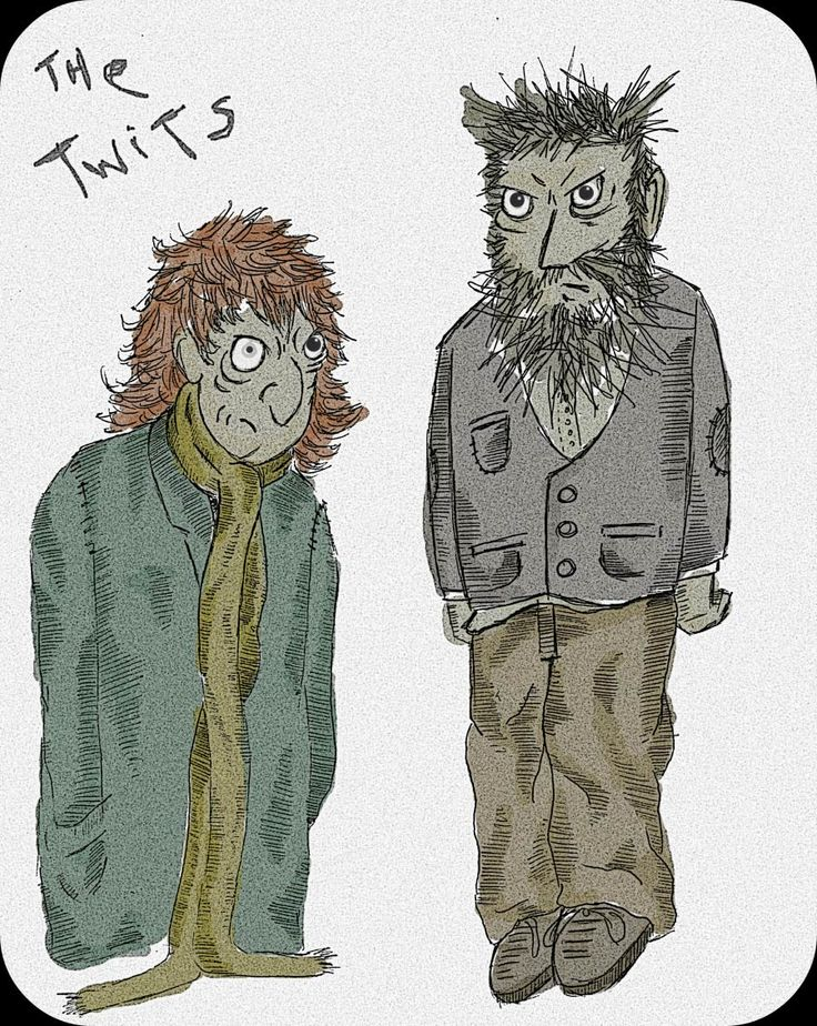 Posted on Urber T'WAS WHICH TWITS? Roald Dahl's 'The Twits' Enda Walsh Royal Court A different take on the original story