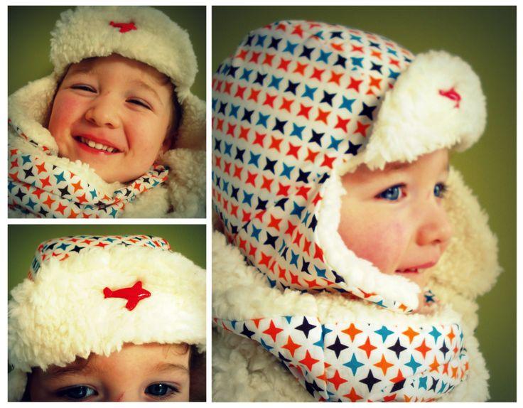 Pilotenmuts + sjaal http://broterhammenmetgeleconfituur.blogspot.be/2014/02/voor-het-geval-dat-het-toch-nog-winter.html