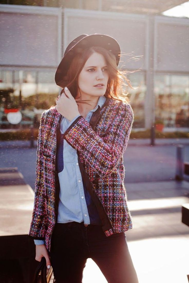 tweed jackets for women buy at frontrow shop