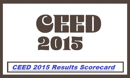 CEED 2015 Results available online on www.gate.iitb.ac.in. CEED Expected Cut Off Marks as per SC ST OBC Category. CEED Result Scorecard Download Date.
