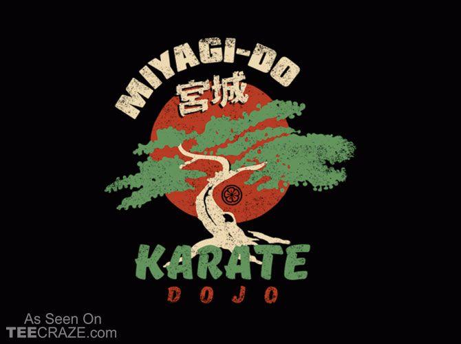 Miyagi-Do Karate Dojo T-Shirt - http://teecraze.com/miyagi-do-karate-dojo-t-shirt/ -  Designed by Busted Tees    #tshirt #tee #art #fashion #clothing #apparel #KarateKid