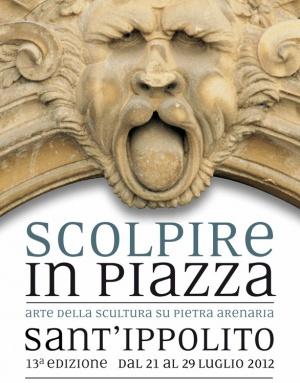 """Sant'Ippolito (PU). Stasera il via alla 13esima edizione di """"Scolpire in Piazza"""". scolpire in piazza – Giornale.sm"""