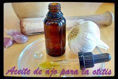 Aceite de ajo para el dolor de oídos