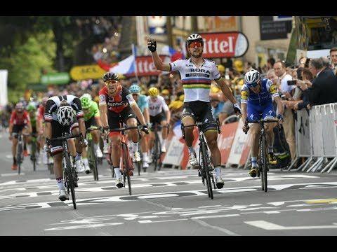 Peter Sagan wins  stage 3 Tour De France