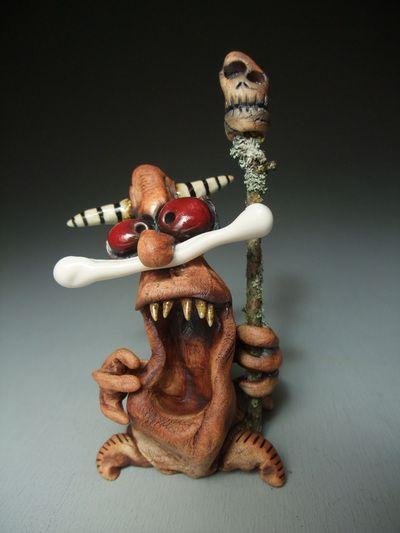 ceramic monster   james de rosso