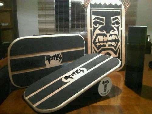 Totem Balanceboards // Indo Board //tabla De Equilibrio !!