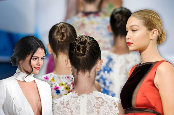 Hair trend: chignons for Spring 2016