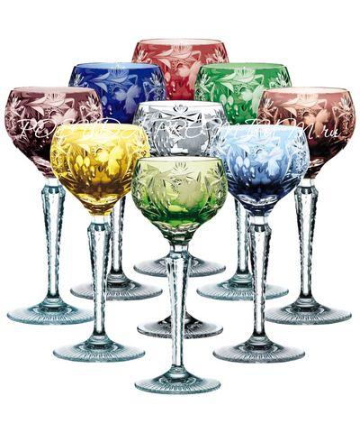 Τα διαμάντια της Nacthmann, κρυστάλλινα ποτήρια traube με χρώμα: παλιά μυστική συνταγή που ξεκινάει από τους αλχημιστές του μεσαίωνα , που φυλακίζει τα χρώματα στο κρύσταλλο. Πάρτε ένα ποτήρι στα χέρια σας και νιώστε την ολοφάνερη γοητεία της παραδοσιακής σειράς.. www.zoulovits.com