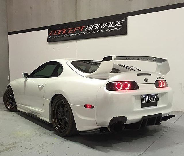 Anyone Else Think The Supra Has The Coolest Tail Lights Ever?   Toyota Supra    :   : Please Tag