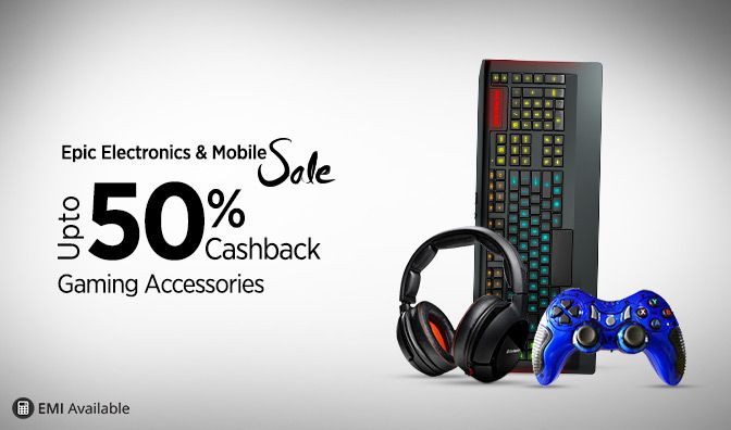January 2016 is running, In this January 2016 Paytm the online shopping site is came with an exciting sale on Electronics devices named Epic Electronics and Mobile Salewhere they are giving upto 50%Cashback on Electronics devicesat lowest online price. This Electronics Sale is from 18th January to 22nd January at 11 AM. So, In this ...