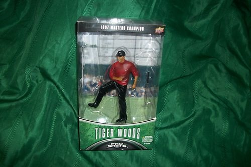 TIGER WOODS PRO SHOTS 1997 MASTERS CHAMPION UPPER DECK FIGURINE AND CARD NIP: 1997 Master, Cards Nip, Tiger Woods, Ebay Essential, Champions Upper, For Shots, Decks Figurines, Master Champions, Shots 1997