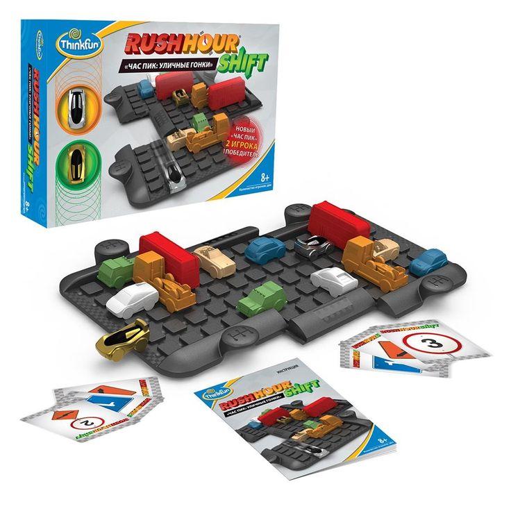 Настольная игра Час пик: Уличные гонки в магазине детских игрушек Головастик