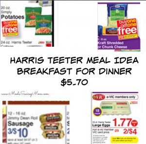 Harris Teeter Meal Deal Idea: Hashbrown Casserole