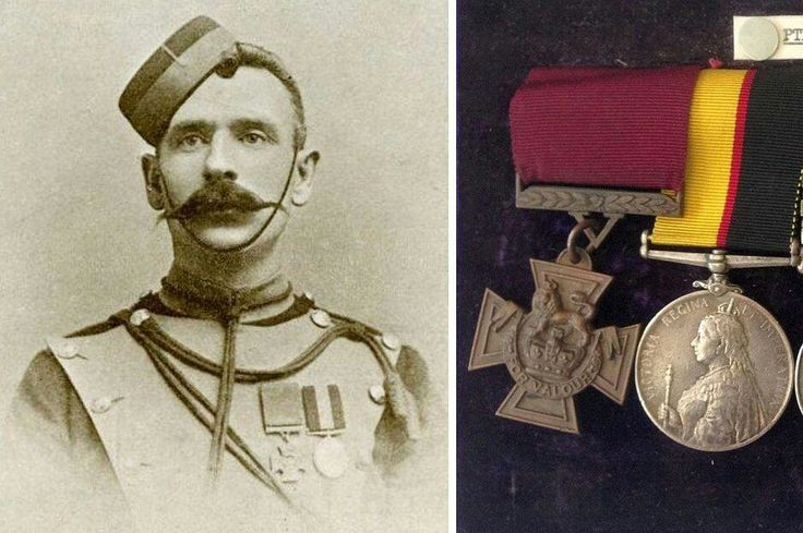 Thomas Byrne, VC. Sudan Campaign, The Battle of Omdurman 1898(Aged 31) . Private in the 21st Lancers. B Dublin 1866. D Canterbury 1944. Buried at West Gate Cemetery, Canterbury. Citation : On the 2nd September 1898,at the Battle of Omdurman, Private Byrne turned back in a charge of Lancers to assist a lieutenant of the Horse Guards who was wounded and being attacked by several dervishes, Private Byrne, despite also being wounded, attacked the dervishes, enabling the lieutenant to escape…