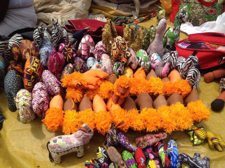 Animal & Puppets @ Maasai Market, Nairobi