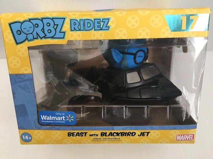 Funko Pop Dorbz Rides 17 X-Men Beast with Blackbird Jet Walmart Exclusive #Funko