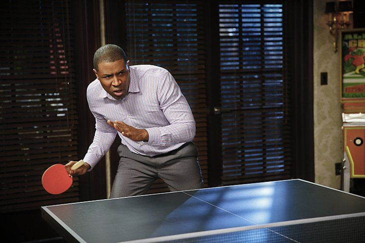 Pin for Later: The Sexiest TV Moments of 2014 Hart of Dixie Lavon (Cress Williams) is even sexy playing ping pong.