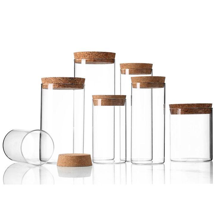 pas cher couvercle en bois transparent bocaux en verre. Black Bedroom Furniture Sets. Home Design Ideas
